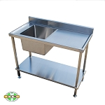 Single Sink Bench - Series 600
