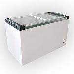Glass Top Chest Freezer SD-520P